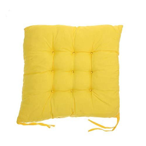 Cojines amarillos para Silla con ligarudas - 40x40cm