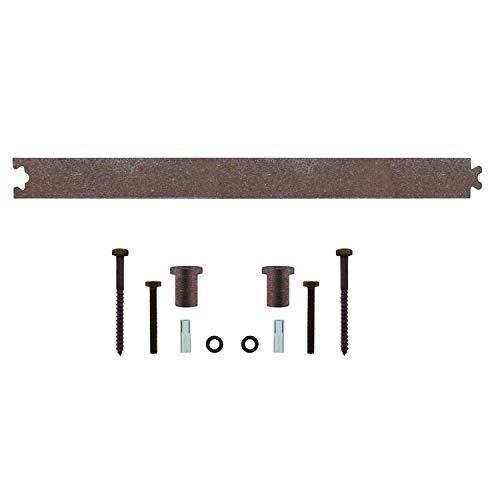 INTERSTEEL - Zwischenschiene Antik - Verlängerung für Schiebetüren, Innentüren und Wandschränke - 45 cm