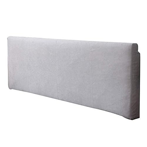 Almohadas de cuña CAMARO CAMA DE CAMBIO Cojín suave Lumbar tapizado suave Almohada de lectura grande con cubierta lavable extraíble (color: a, Tamaño: 200x10x58cm) (Color: F, Tamaño: 200x10x58cm)