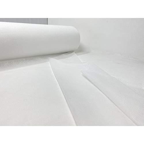 Physiofit24 Vlieslaken 50 Stück mit Perforation und X-Schlitz (1 Rolle mit 50 Laken) Massageliegenauflage Massageauflage Hygieneauflage