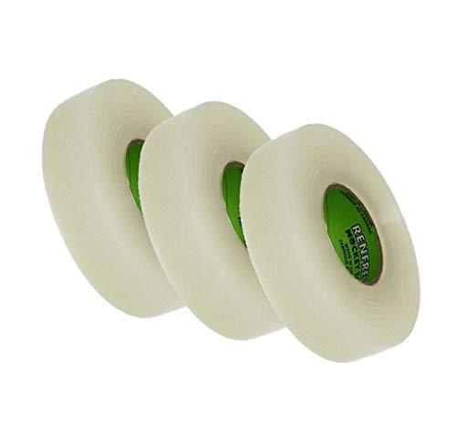 Renfrew 3X Clear Polyflex Tape f. Stutzen Eishockey Shin pad Stutzentape 24mm