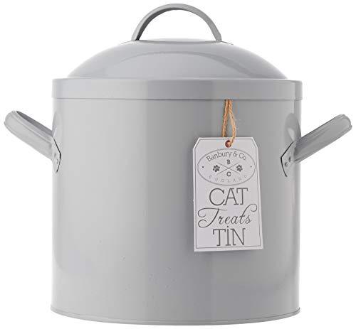 Banbury & Co Aufbewahrungsbox für Katzenfutter/-leckerlis, Dose
