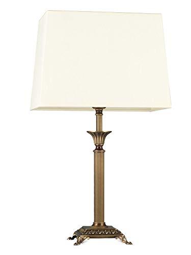 Helios Leuchten 403775/6 Vintage Lampe Leuchte | klassische Jugendstil Tischleuchte Tischlampe |...