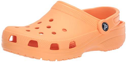 Crocs Classic Clog - Sabots Mixte Enfant - Orange (Cantaloupe 801) - 25/26 EU