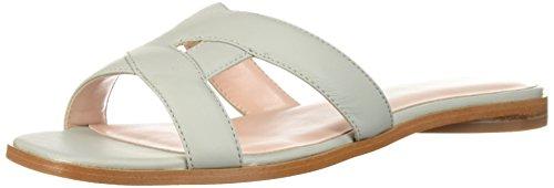 Avec Les Filles Women's Blaye Flat Sandal, ice Green Nappa, 10 M US
