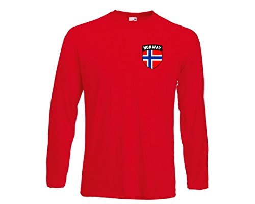 Noruega Noruega Norge Football Club Nacional Camiseta de manga larga