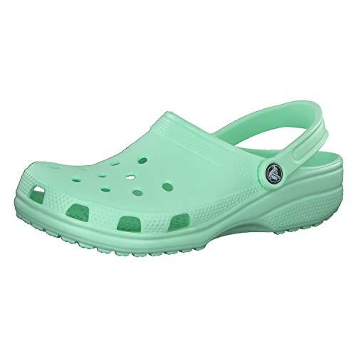 Crocs Unisexe Adulte Men's and Women's Classic Confortable Slip on Casual Water Shoe Clog - - Menthe néo, 50/51 EU