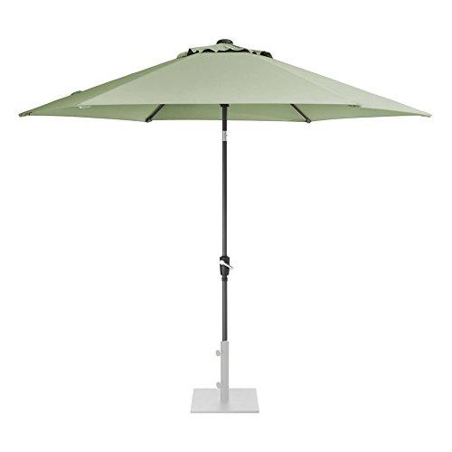 KETTLER 3.0m Wind Up Parasol with tilt Grey frame and Sage Canopy