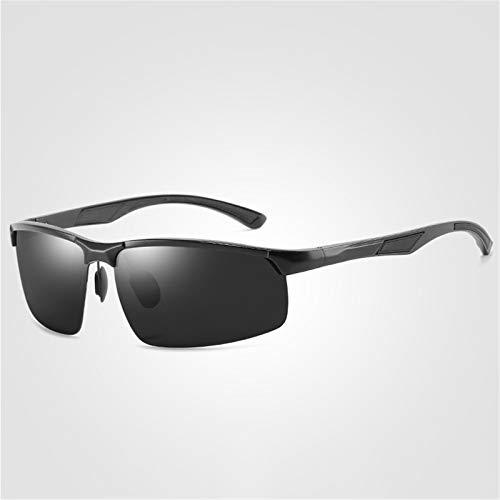 LALB Gafas De Sol Polarizadas para Hombres Sin Marco De Aluminio Completo De Aluminio Deportes De Accionamiento De Copas De Ciclismo