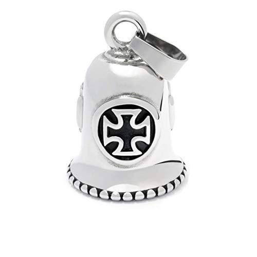 Campanilla de la suerte con cruz de Malta Gremlins Bell