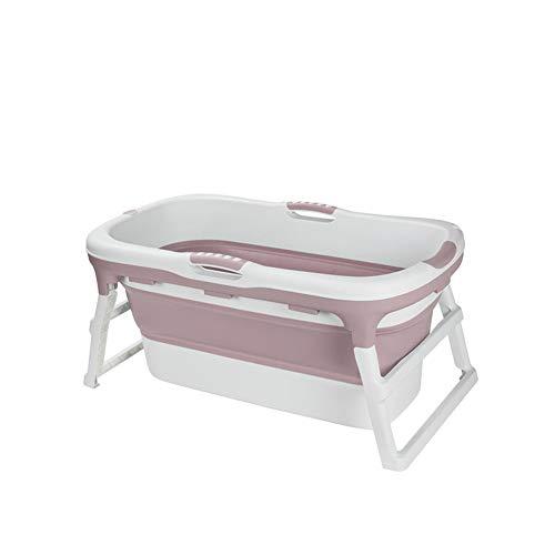 Chicti Grote badkuip voor volwassenen, opvouwbaar, met afneembare overtrek, draagbaar kinderbadkuip, binnenbadkuip, buitenbad om in te weken