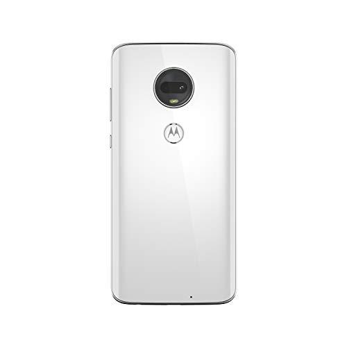 Motorola G7 Smartphone débloqué 4G (6,2 Pouces, 64Go ROM, Android 9.0) Blanc [Exclusivité Amazon]