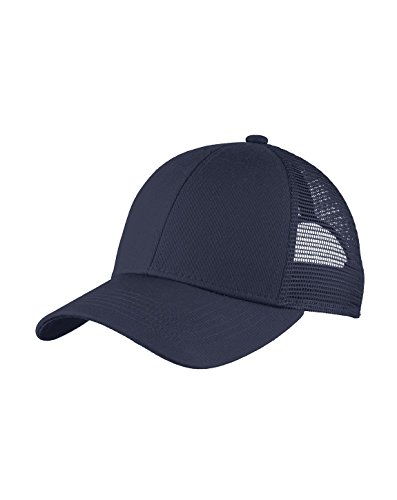Port Authority Adjustable Mesh Back Cap>One size True Navy C911