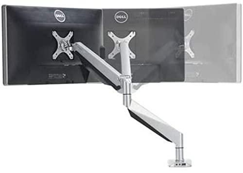 Brazo de computadora LCD de escritorio de movimiento completo de la primavera de aluminio que carga 2-9kg con audio y puerto USB