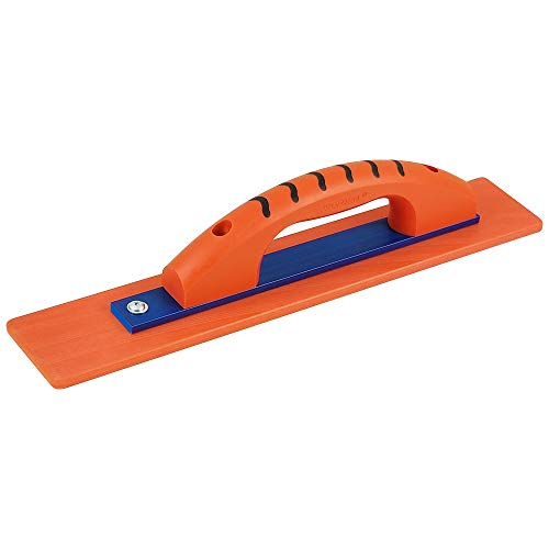 Kraft Tool CF2016PF 16 in. x 3 in. Orange Thunder with KO-20 Technology Hand Float with ProForm Handle