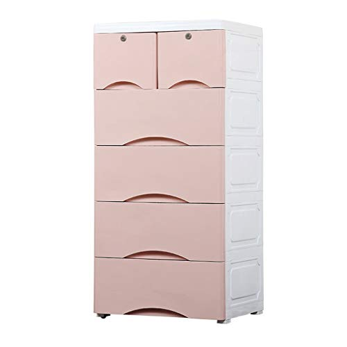 Zzg-2 Multifunction Finishing Cabinet, Baby Plastic Assembled Multi-Layer Storage Box Living Room Chest of Drawers, 5040103CM (Color : D)