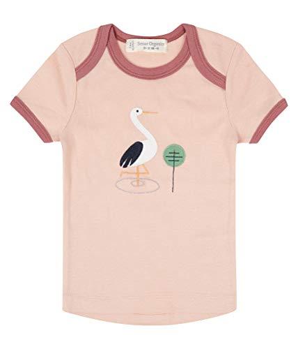T-shirt pour bébé Rose Storch Biologique Taille 50/56