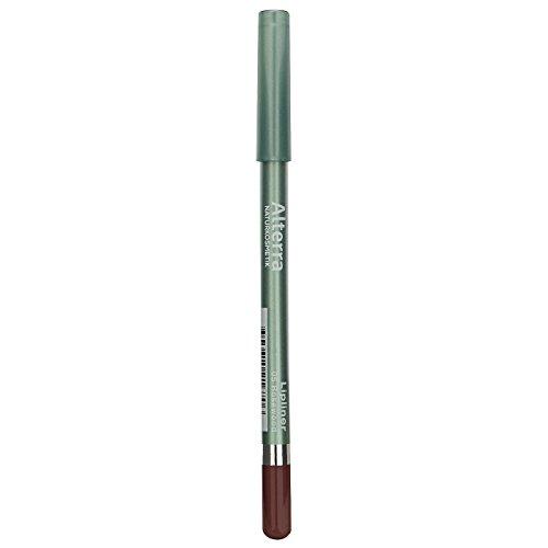 Alterra Lipliner 1 Stück Farbe 05: Rosewood, ohne synthetische Konservierungsstoffe, Hautverträglichkeit dermatologisch bestätigt, zertifitzierte Naturkosmetik, vegan