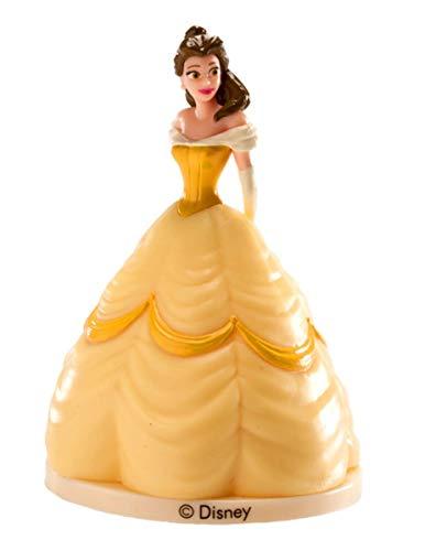 Dekora 347107 Figura La Bella y La Bestia Disney, Multicolor, 9 cm