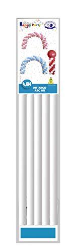 GLOBOLANDIA- Kit Arco para Globos, Color Blanco (7061)