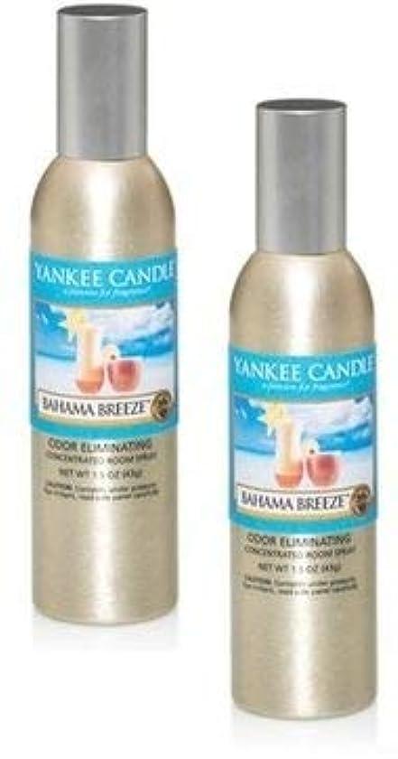 スリップシューズ手段逆さまにYankee Candle 2パックBahama Breeze Concentrated Room Spray 1.5オンス