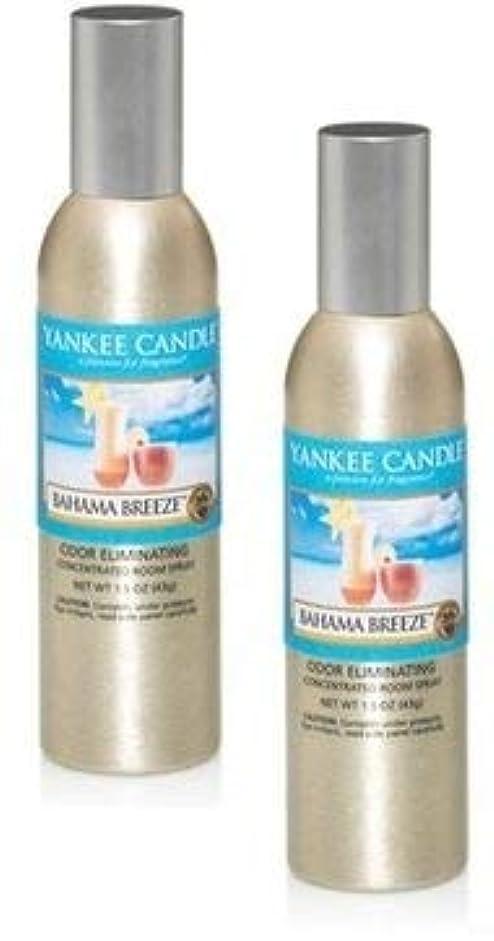 誘発するうめき声トマトYankee Candle 2パックBahama Breeze Concentrated Room Spray 1.5オンス