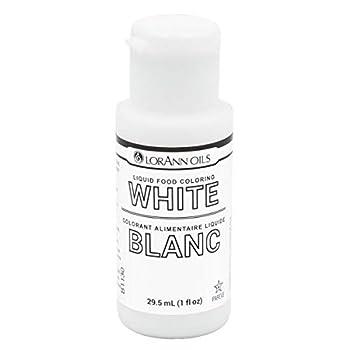 LorAnn White Liquid Food Color 1 ounce squeeze bottle