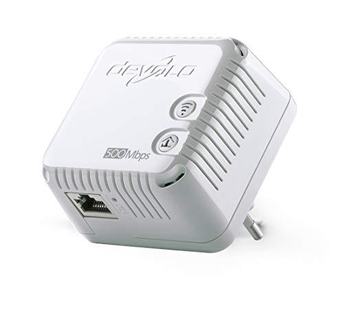 Devolo 9077 - Adaptador de comunicación por línea eléctrica (RJ-45, WLAN, 500...