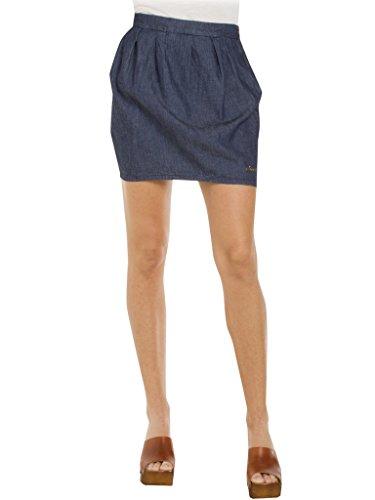 Carrera Jeans - Falda Vaquera 780 para Mujer, Estilo Globo, Ajuste Regular, Cintura Normal