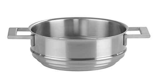 Cristel - CVU20SF- Cuit-vapeur inox 20cm - Collection Strate