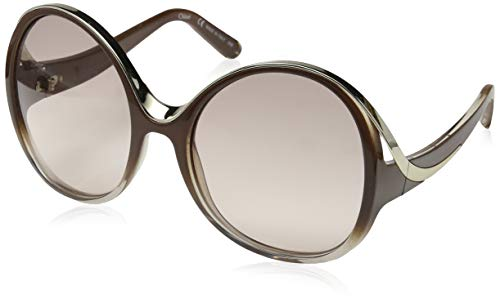 Chloé Sonnenbrille Ce713S Gafas de sol, Marrón (Braun), 61.0 para Mujer