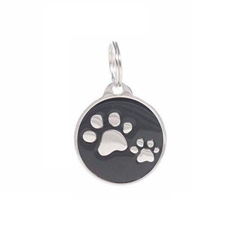 PetTouchID, medaglietta identificativa intelligente per animali, con codice QR, tecnologia NFC, sistema GPS e decorazione con zampine