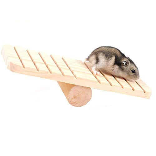 Cfbcc Hamster Zubehör und Spielzeug Hamster Hamster Sand Hamster Klettern Spielzeug Hamster Haus Hamster Versteck Holzkäfig Spielzeug Hamster Meerschweinchen Hamster Spielzeug