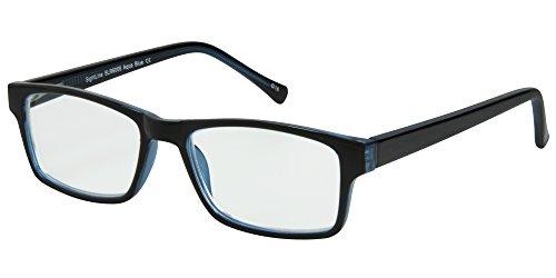 computer reading glasses walmarts Sightline 6005 Multi Focus Computer Reading Glasses with Anti-Glare Coated Lenses (1.00, Aqua Blue)