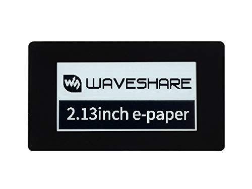 Waveshare 2.13inch Touch E-Paper E-Ink Display HAT for Raspberry Pi Black/White Color 250×122 Pixels, Support Partial/Full Refresh 5-Point Capacitive Touch with SPI Interface