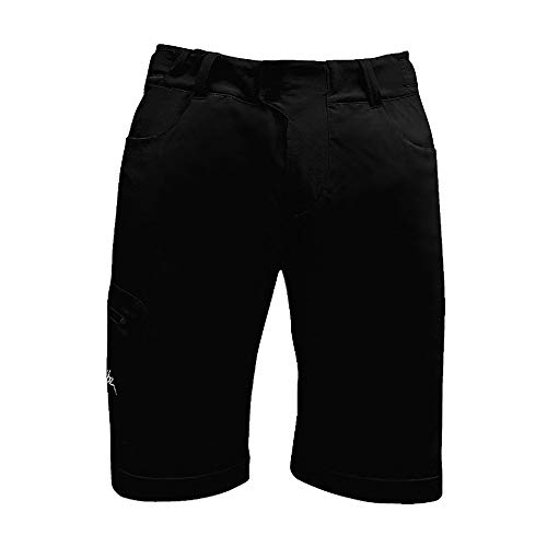 Chiba Baggy Lady Inner Pant, Poliestere, Uomo, Baggy, Black, XS