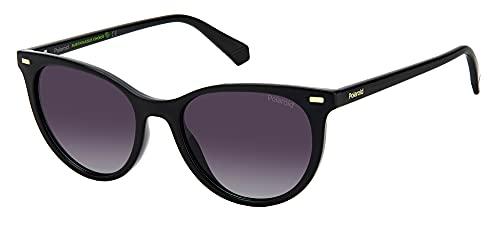 Polaroid PLD 4107/s Sunglasses, 807/WJ Black, 52 Womens