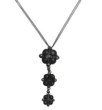 Konplott Halskette Noir lang, schwarz