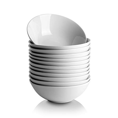 10 Strawberry Street CATERING-12CPBWL Coupe Round 12 oz Set of 12 Cereal Bowls, White