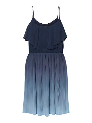 VERO MODA Damen Minikleid Cami MPlacid Blue