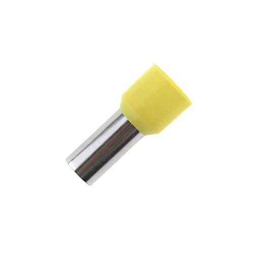 50x Aderendhülsen isoliert 25,0mm² / 16mm gelb