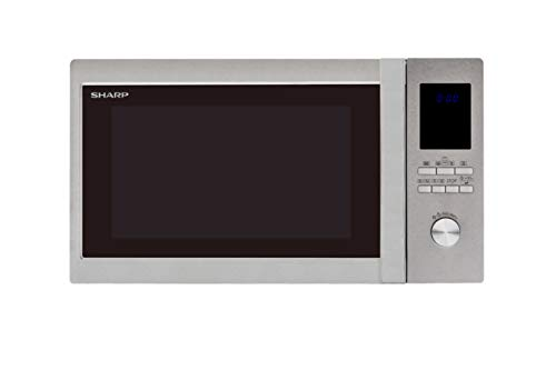 Sharp R982STM Combination Microwave Oven, 42 Litre capacity, 1000W, Stainless Steel