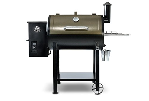 PIT BOSS Grills 72820 Deluxe Wood Pellet Grill,white,820 square inches