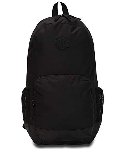 Hurley U Renegade II Solid Backpack Mochilas, Hombre, Black, 1SIZE
