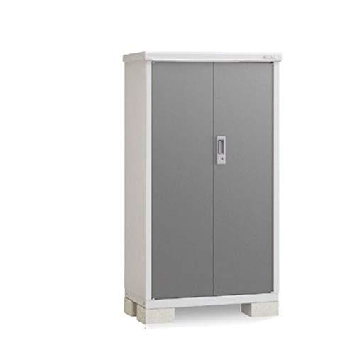 イナバ物置 BJX/アイビーストッカー BJX-095D 全面棚タイプ 『屋外用ドア型収納庫 DIY向け 小型 物置』 PG(プレミアムグレー)