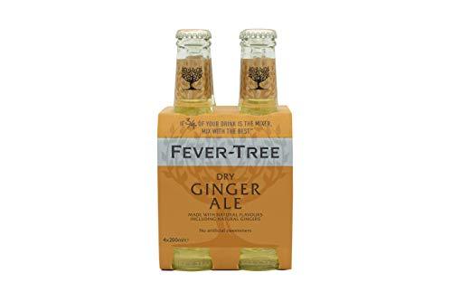 Fever-Tree Premium Ginger Ale - Le pack de 4 bouteilles de 20cl