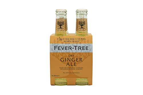 Fever Tree Fever Tree Premium Ginger Ale Pack de 4 Botellas 20cl