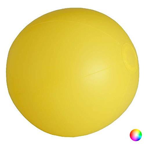 Eurroweb - Balón hinchable para juegos de playa, piscina y casa, color naranja
