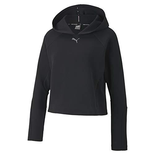Puma Damen 58353101 Kapuzenpullover, Black, XL regulär