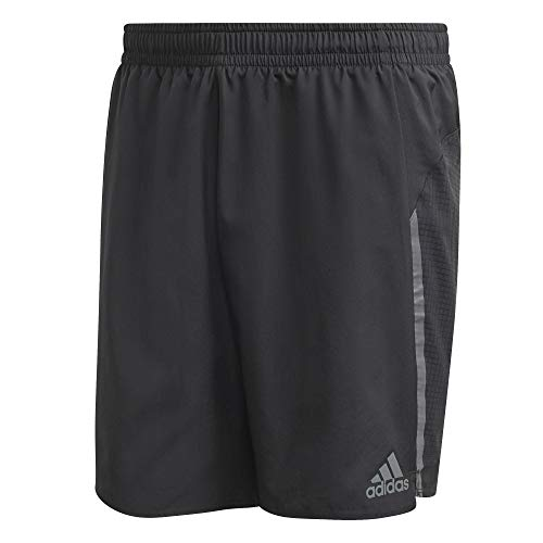 adidas Saturday Short Pantalón Corto, Hombre, Negro, XS7